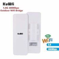 Wifi Bridge 5.8G 300Mbps Wireless CPE/AP Router Wifi Repeater Point to Point 3KM